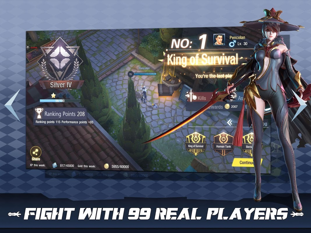 Survival Heroes - MOBA Battle Royale screenshot 2