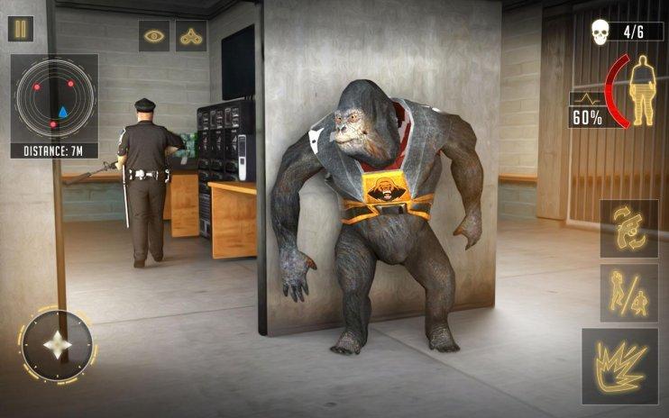 Ape Planet Prison : Free Survival Action Mission 1 Download APK for