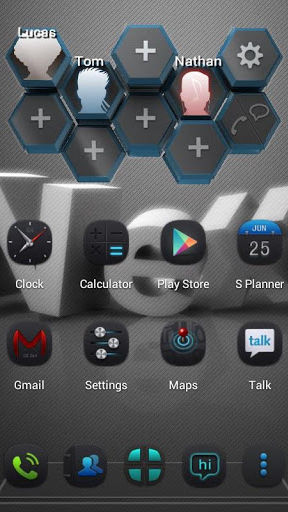 Next Contact Widget screenshot 1