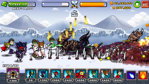 HERO WARS: Super Stickman Defense screenshot 2