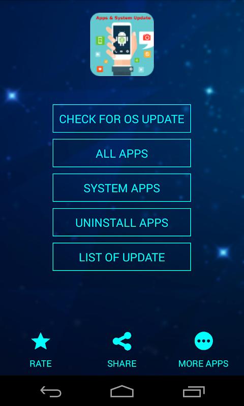 System Software Update screenshot 1