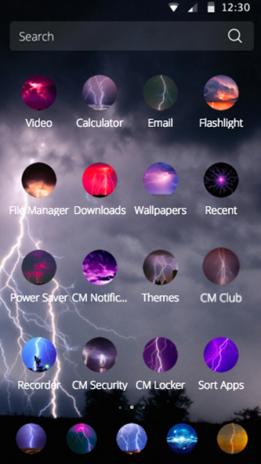 Cm Launcher Lightning Style 113 Télécharger Lapk Pour Android