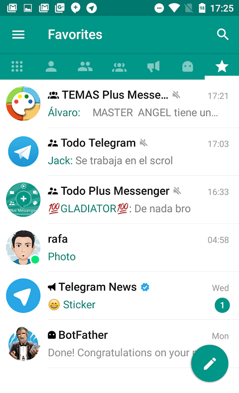 Plus Messenger screenshot 2
