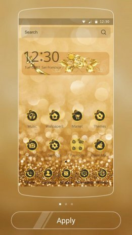 Golden Dream Theme Gold Halo 1 1 3 Download APK for Android - Aptoide