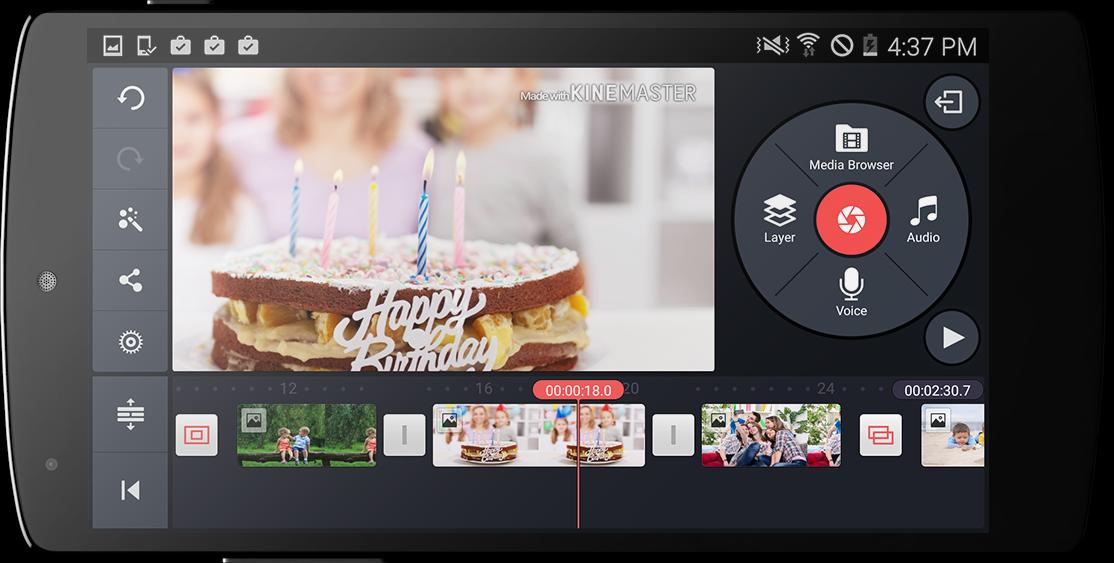 KineMaster – Editor Completo screenshot 2