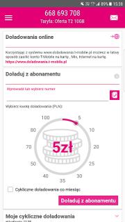 Mój T-Mobile screenshot 6