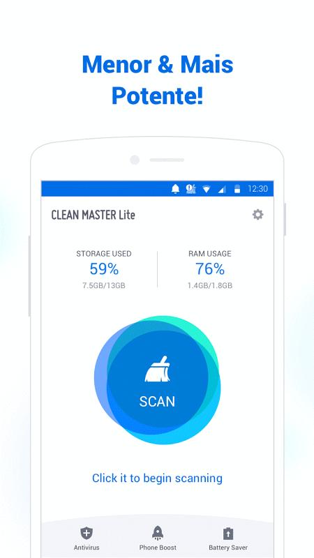 Clean Master Lite (Boost) screenshot 1