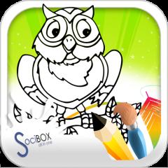 Buku Mewarnai Burung Hantu 10190417 Unduh Apk Untuk Android Aptoide