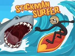 Stickman Surfer Screenshot