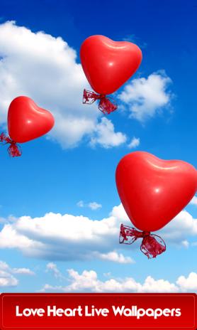 Kalp Canlı Duvar Kağıtları Aşk 15 Android Aptoide Için Apk Indir