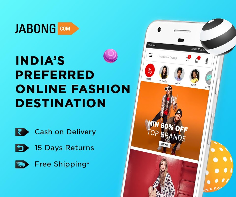 Jabong Online Shopping App screenshot 1