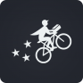 postmates food delivery fast icon