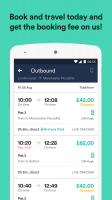 Trainline - The Leading Train and Coach app Screen