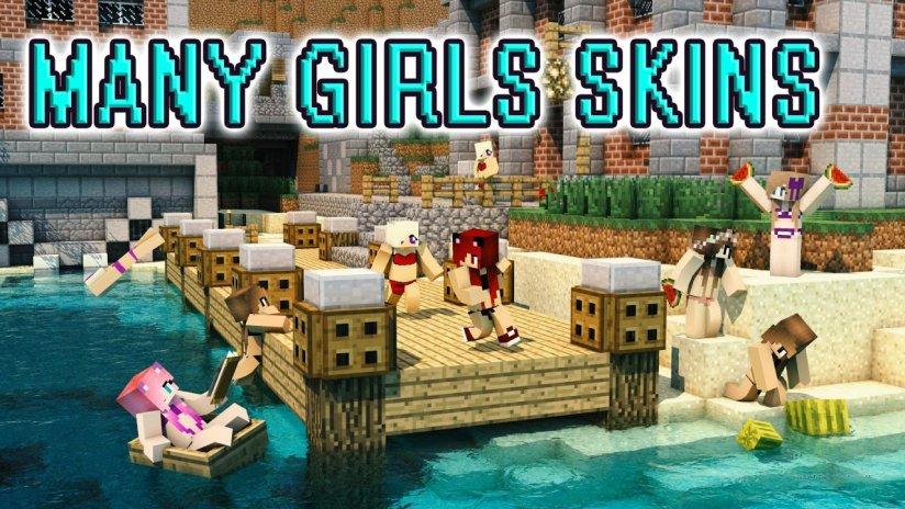 Hot Girl Skins For Minecraft Download APK For Android Aptoide - Hot skins fur minecraft