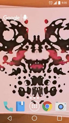 Photo Rorschach Live Wallpaper 1.0