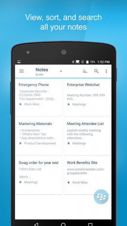 BlackBerry Notes 2 17 0 2353 Download APK for Android - Aptoide