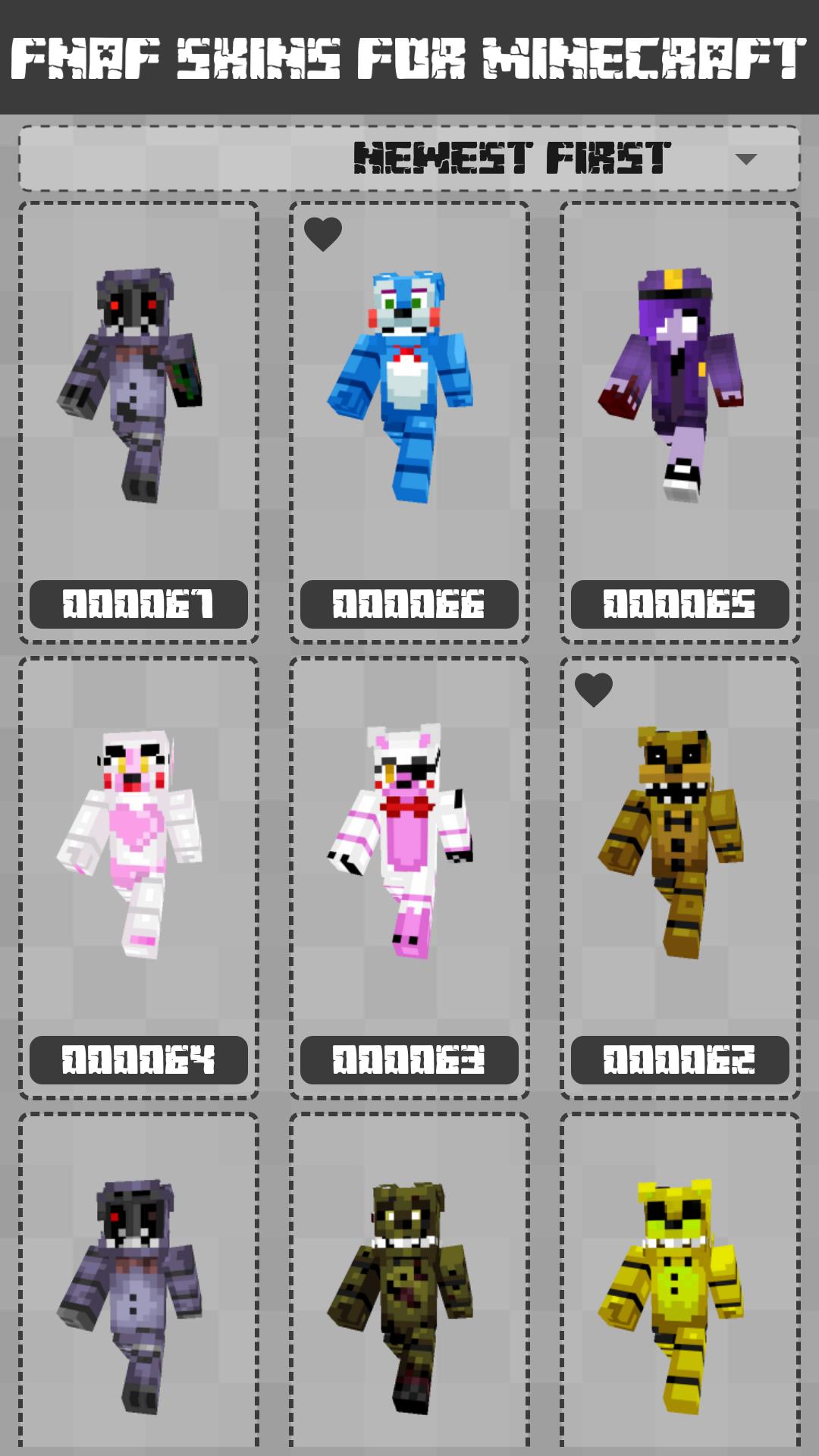 FNAF Skins for Minecraft PE screenshot 2