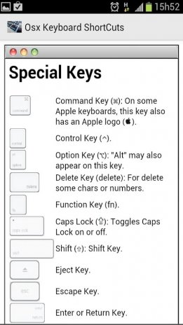 Osx Keyboard ShortCuts 1 3 Download APK for Android - Aptoide