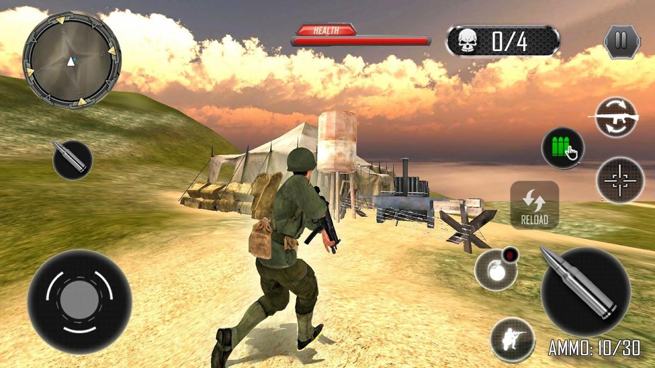 Last Commando Attack: Free Shooting Game 2019 screenshot 2