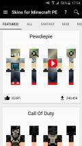 Skins for Minecraft PE Screenshot