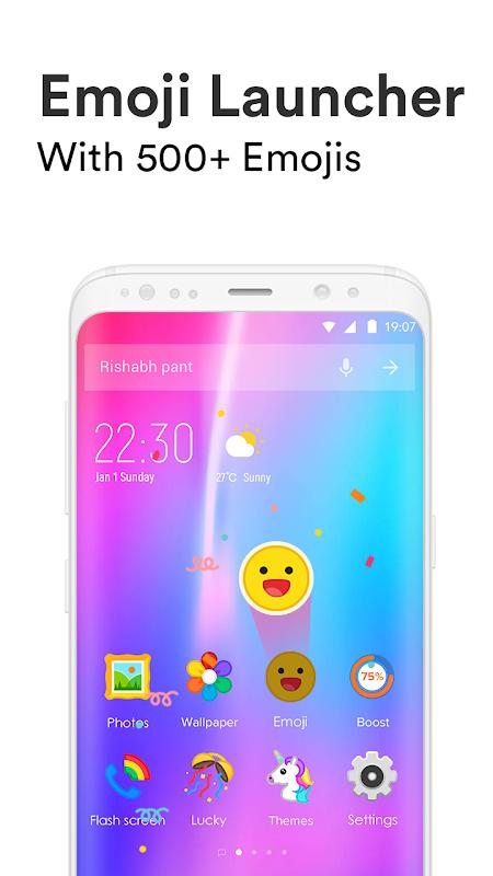 Emoji Launcher - Stickers & Themes screenshot 1