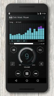 Dub Music Player + Equalizer screenshot 4