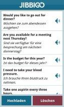 Jibbigo Translator 2.0 Screenshot