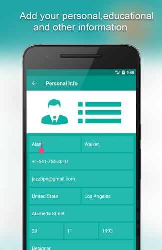 Resume Builder App Free 8 5 4 1 Free Download Android Apk Aptoide
