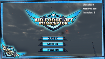 Air Force Jet Interceptor Screen