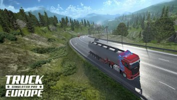 Truck Simulator PRO Europe Screen