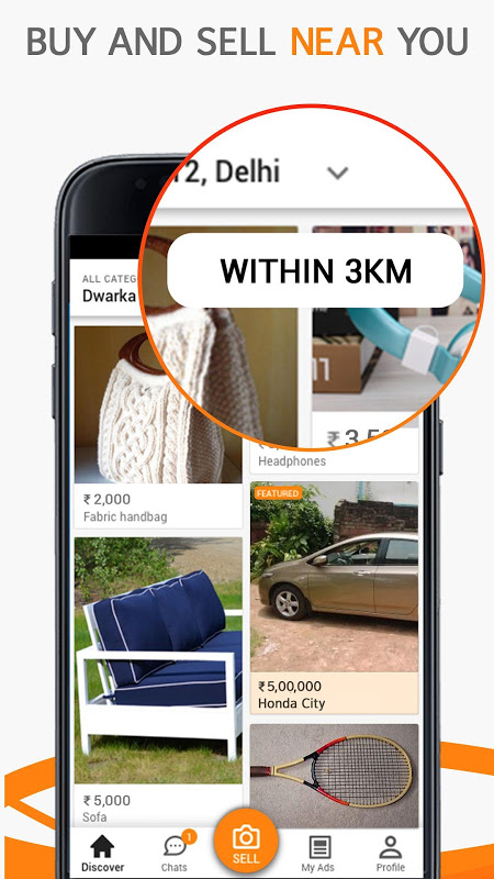 OLX: Buy & Sell Near You with Online Classifieds screenshot 1