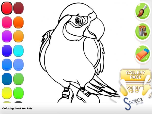 Papağan Boyama Kitabı 10190417 Android Aptoide Için Apk Indir