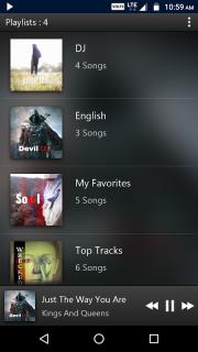 PowerAudio Pro Music Player screenshot 3