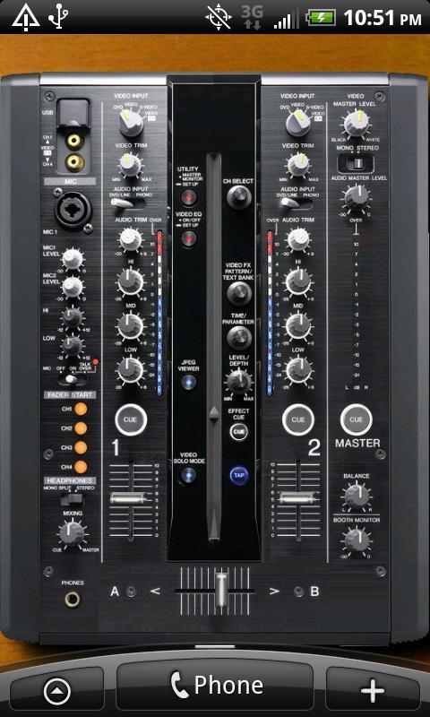 DJ Live Wallpaper screenshot 1