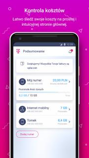 Mój T-Mobile screenshot 1