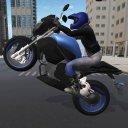 Jogo de moto com grau e corte