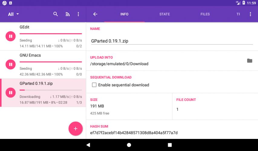 LibreTorrent screenshot 10