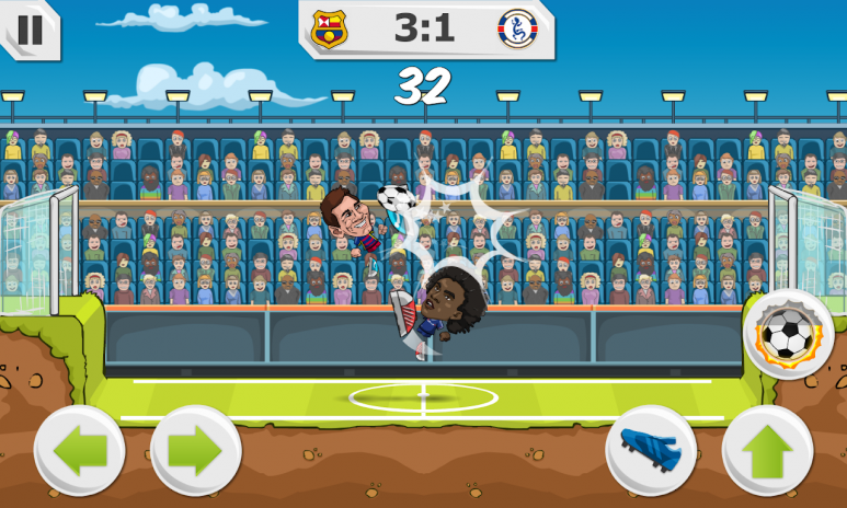 ... Ảnh chụp màn hình y8 football league sports game 2 ...