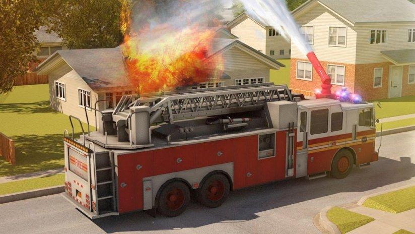 Fire Truck Simulator 3D Parking Games 2017 1 0 Download APK