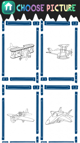 avión de libro para colorear 1.4 Descargar APK para Android - Aptoide