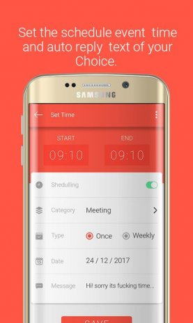 Schedule Assistant - Auto Reply 3 3 0 Download APK for Android - Aptoide