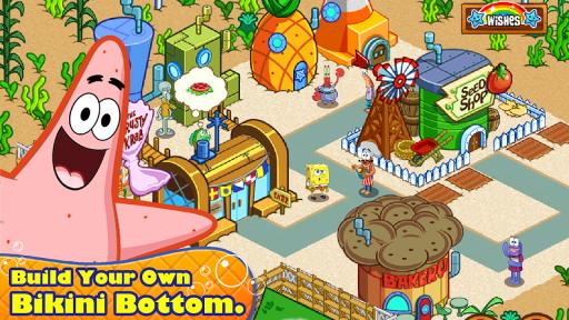 SpongeBob & Friends: Build Nickelodeon's Mega City screenshot 1