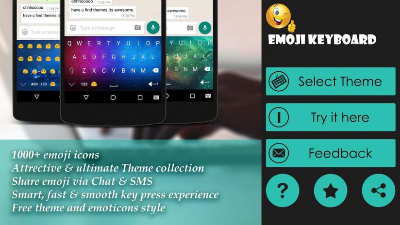 Emoji Keyboard 😍 2 0 Download APK for Android - Aptoide