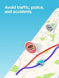 Waze - GPS, Maps, Traffic Alerts & Sat Nav screenshot 1