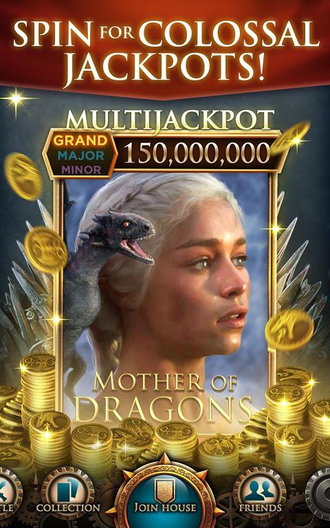 Game of Thrones Slots Casino: Epic Free Slots Game screenshot 1