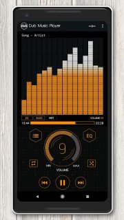 Dub Music Player + Equalizer screenshot 8