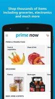 Amazon Prime Now Screen