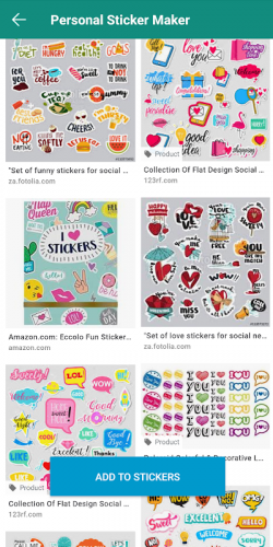 Personal Stickers - Let photo to personal sticker. screenshot 5