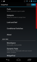 SwipePad - One Swipe Launcher Screenshot