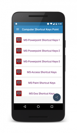 Computer shortcut keys 100+ 1 3 Download APK for Android - Aptoide